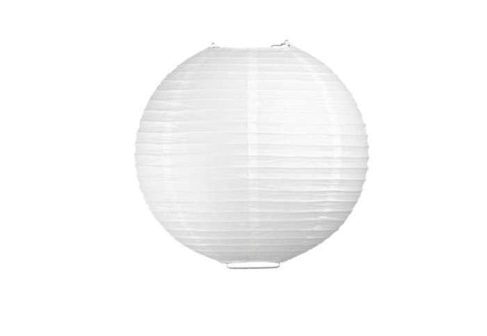 700 rice paper lantern white