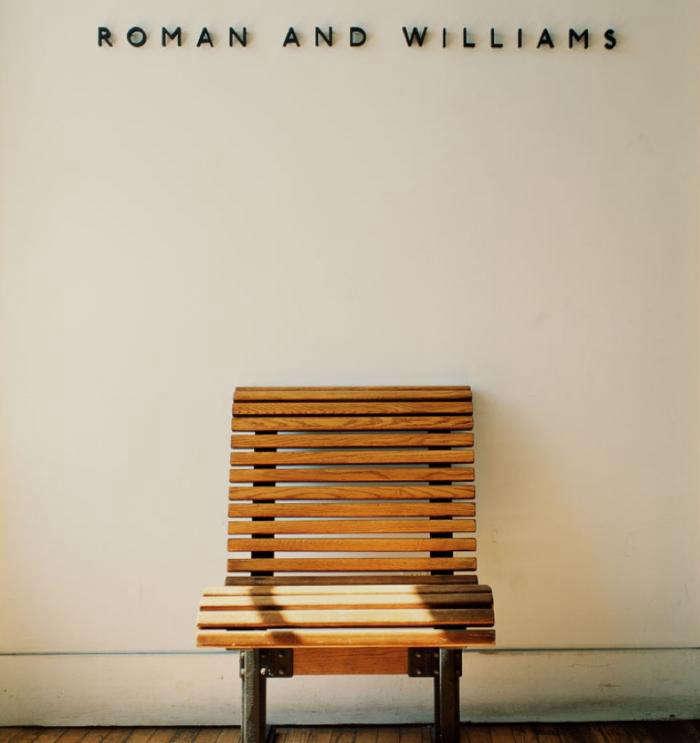 700 roman williams studio sign