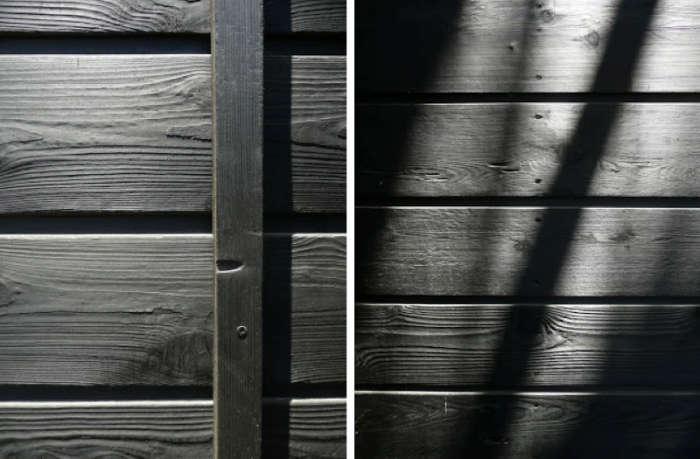 700 shou sugi ban black wood