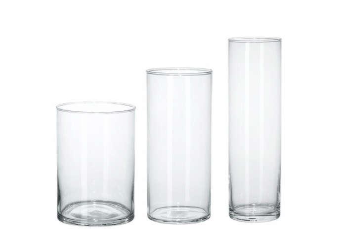700 three vases ikea clear