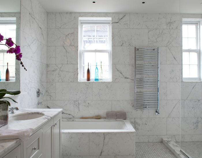 700 wettling architects park avenue apartment marble bathroom