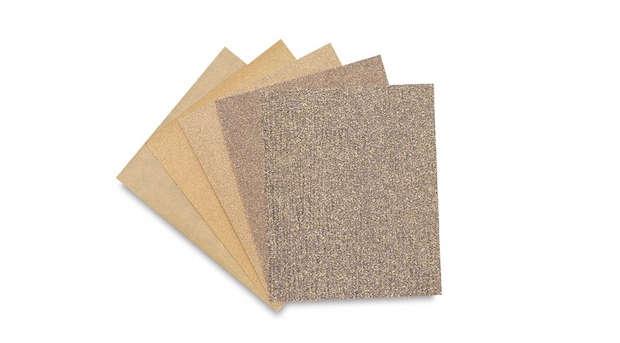 diy cabinet sand paper