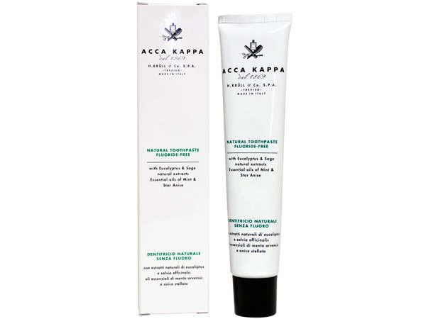 hr 459 001 00 acca kappa natural toothpaste flouride free eucalyptus sage