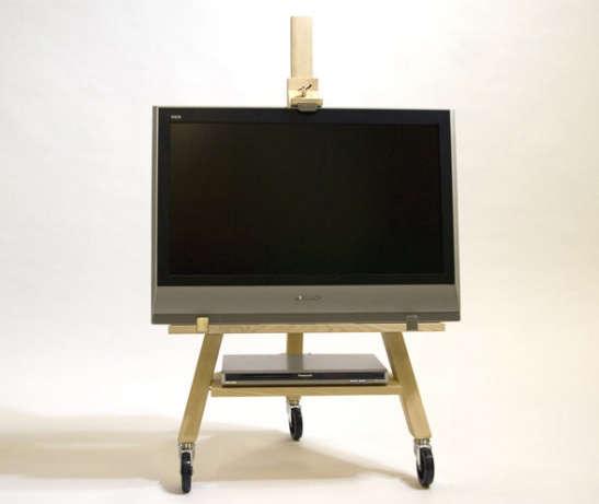Minimalist Mobile TV Easel portrait 3