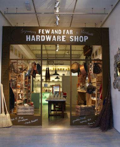Few and far hardware shop