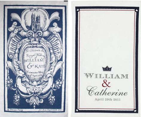 Kitchen Royal Wedding Commemorative Tea Towels portrait 3