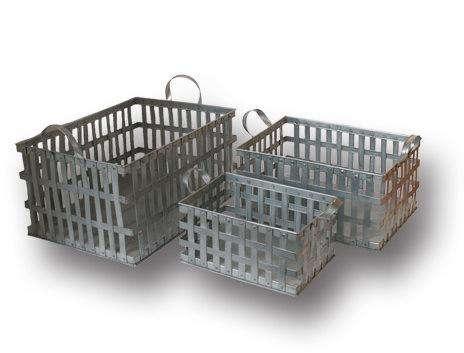 few and far zinc basket