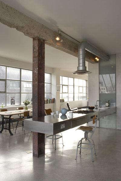ochre loft kitchen 10