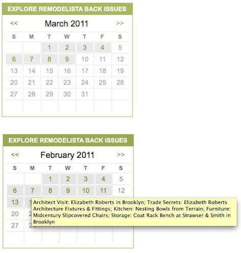 Remodelista Back Issues Calendar portrait 3