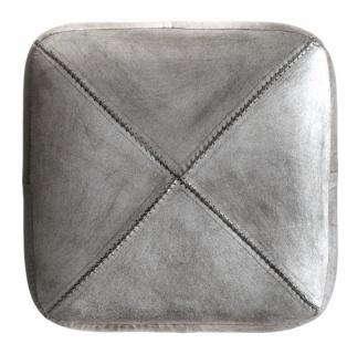 silver pouf calypso 2