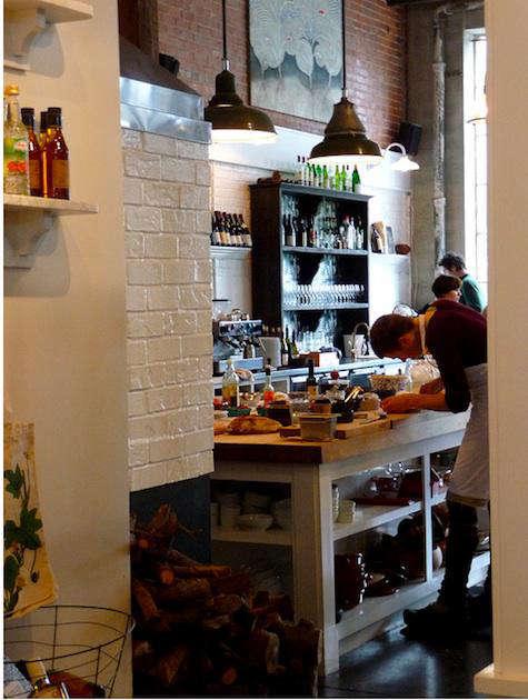 sitka spruce open kitchen 7