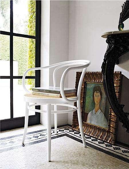 thonet era chair in situ