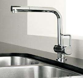 white awra kitchen faucet