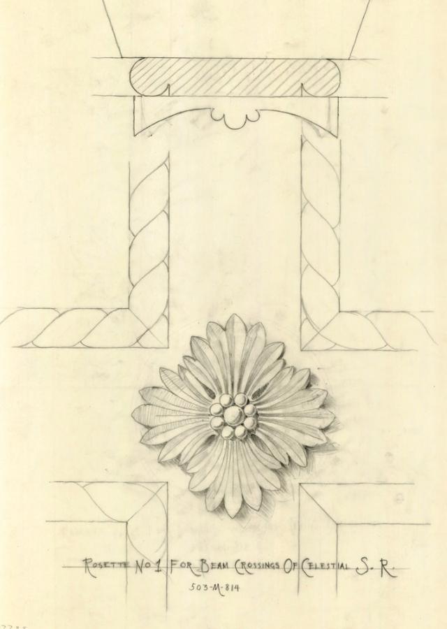 640 julia morgan hearst drawing