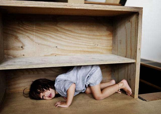 640 kids case in shelf