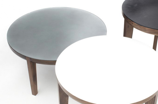 640 moon tables grey white