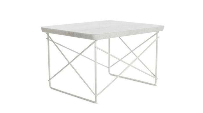 700 eames outdoor marble table