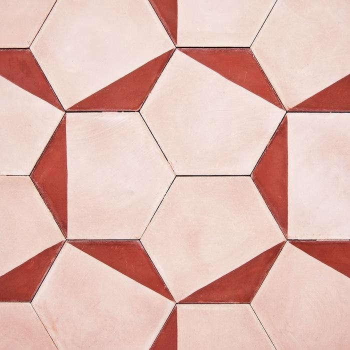 700 pink petal tiles
