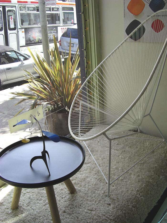 700 rm zinc details rope chair