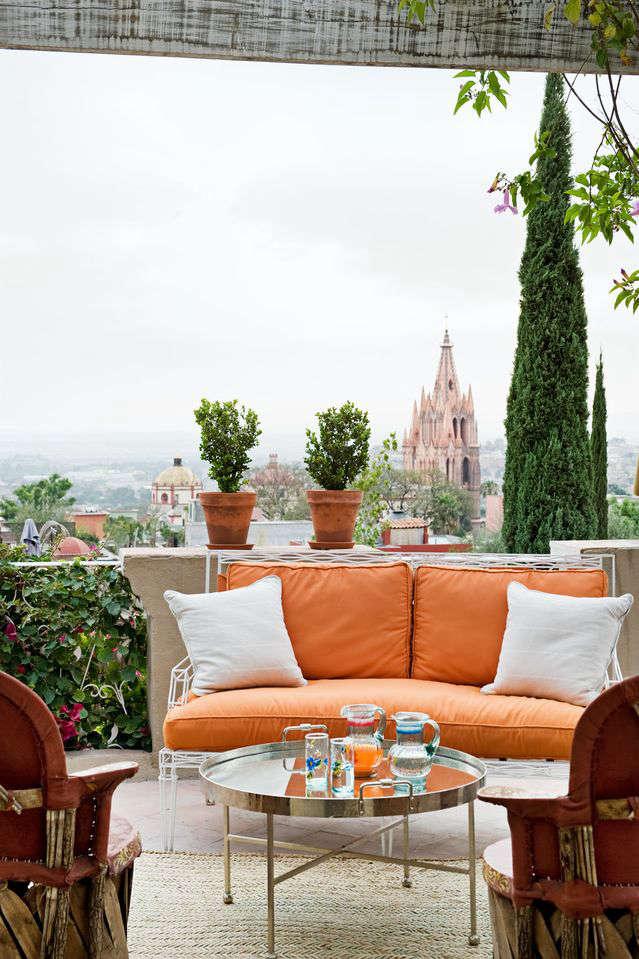 casamidy orange sofa