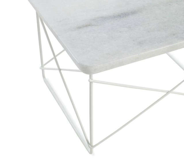 eames upclose marble table