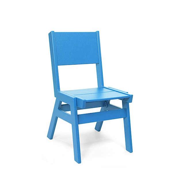loll designs alfresco dining chair flat sky