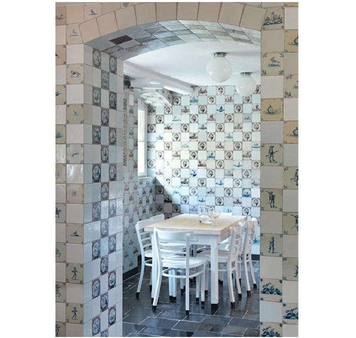 700 delft tile dining room berlin