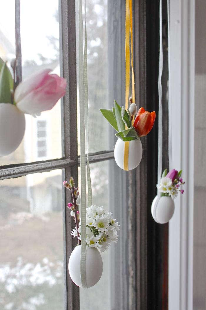 700 easter egg vases