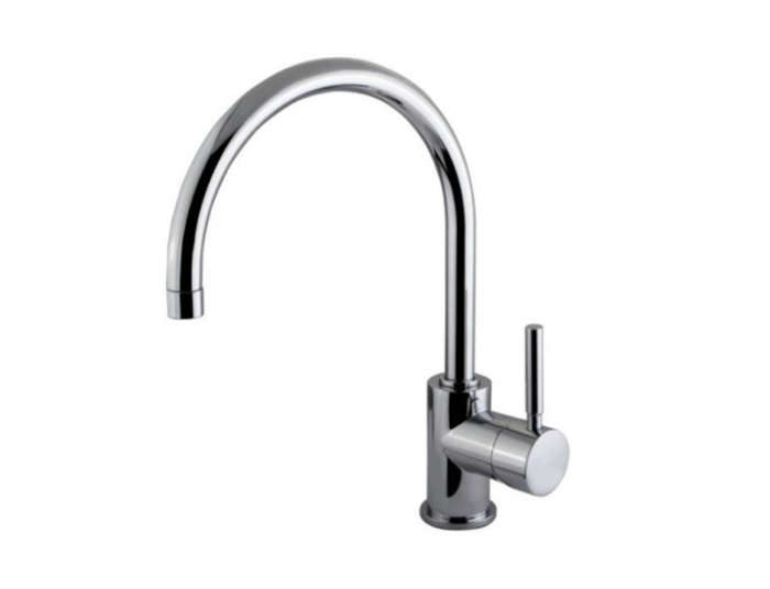 700 faucet for steal this look concrete block kitchen
