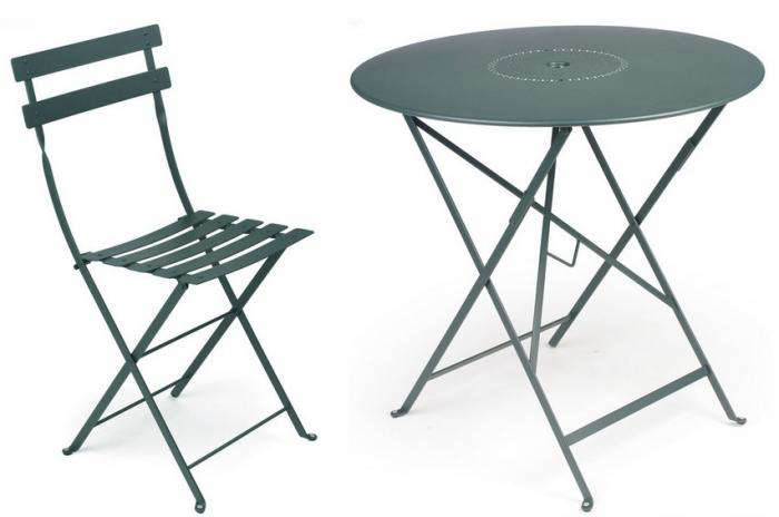 700 fermob metal bistro table for 2 and chairs gardenista