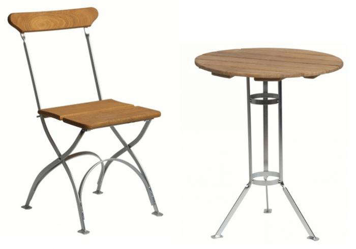 700 grythyttan bistro table and chairs
