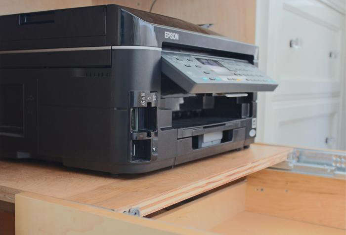 700 home office printer drawer use