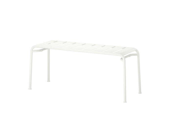 700 ikea metal outdoor bench white