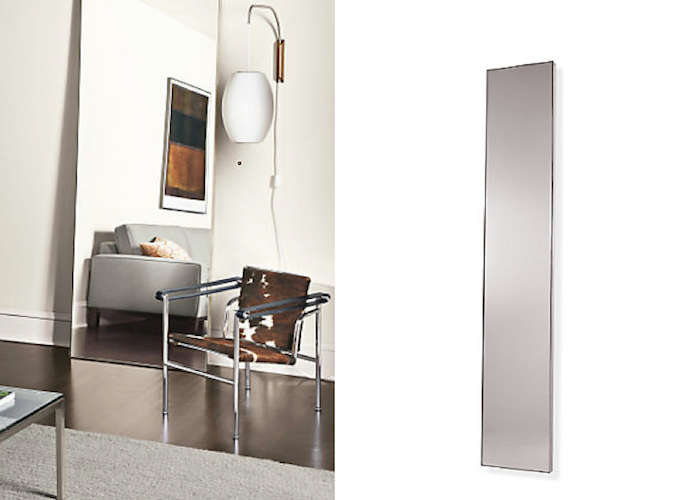 700 infinity leaning mirror room and board