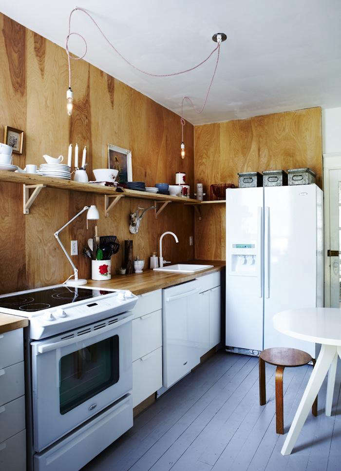 the birch numerar wood block countertop is from ikea. (for something similar, t 15