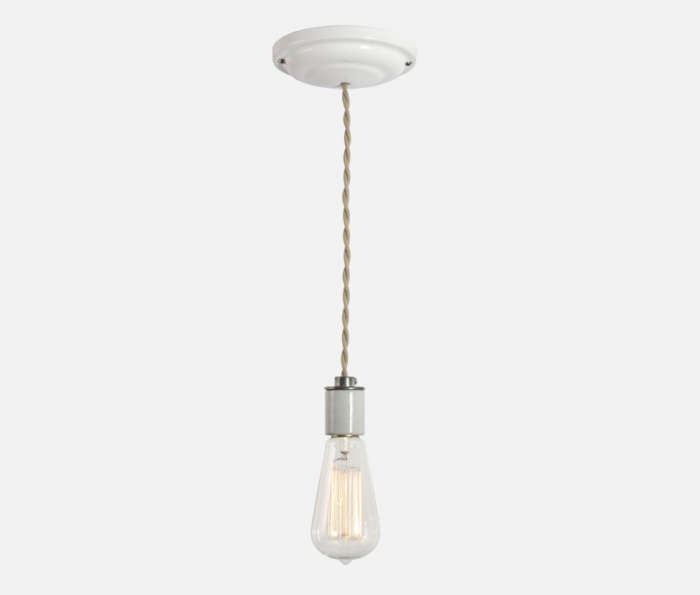 the lewis pendant from schoolhouse electric offers a similar porcelain socket a 16