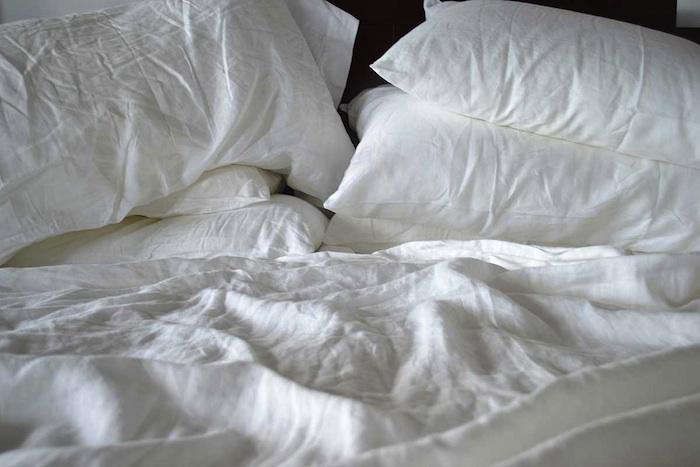 700 linen sheets look good mussed