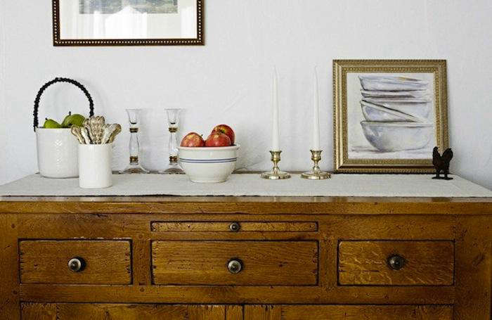700 magness interiors buffet credenza with antiques