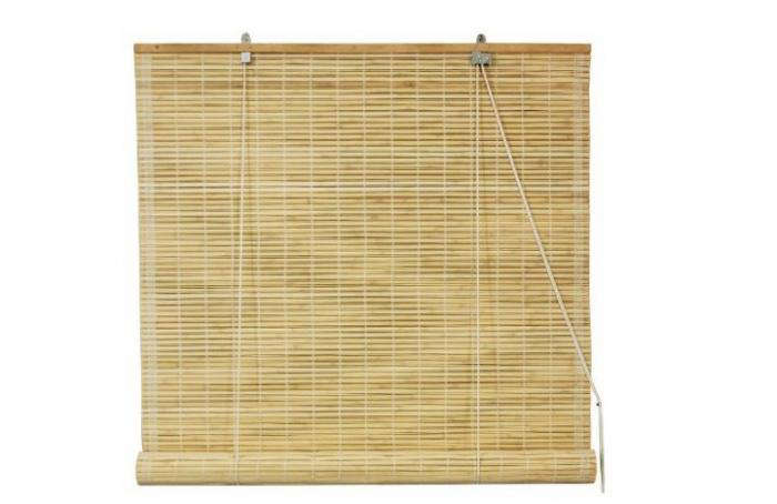 Japanese Inspired Matchstick Blinds Remodelista