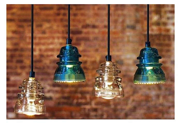 Antiques  Vintage Industrial Glass Lighting portrait 3