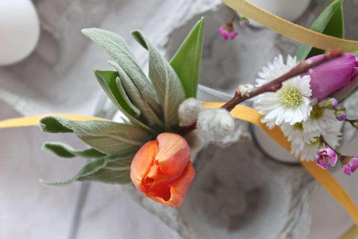 700 orange easter egg bouquet
