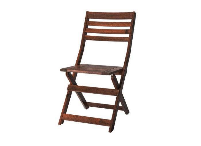 700 outdoor wood folding dining chair applaro ikea
