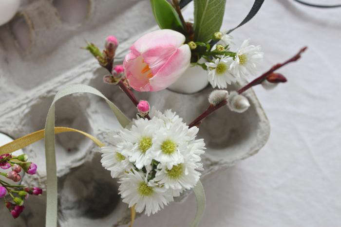 700 pink and white easter egg bouquets