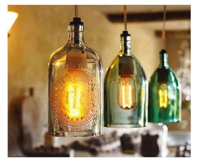 Antiques  Vintage Industrial Glass Lighting portrait 5