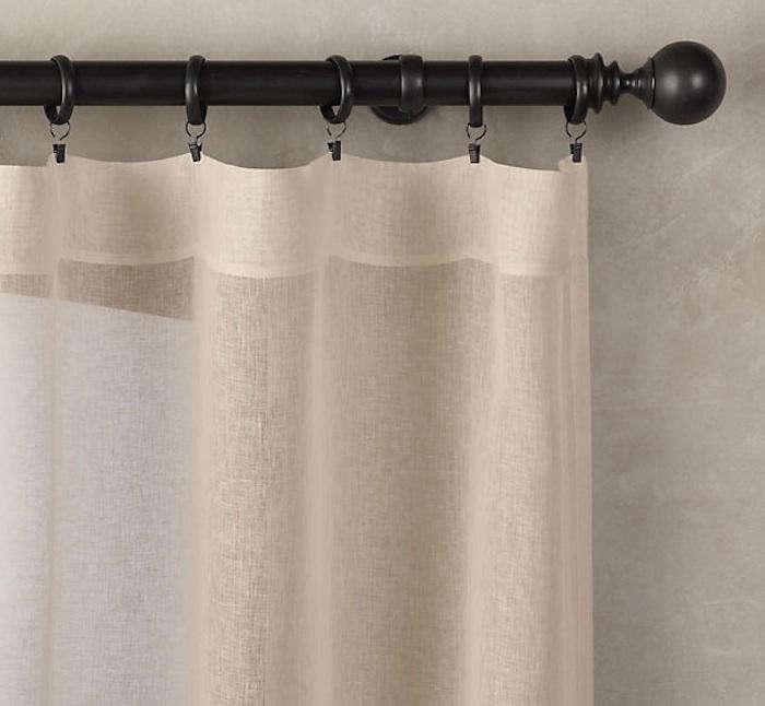 700 sheer linen restoration hardware