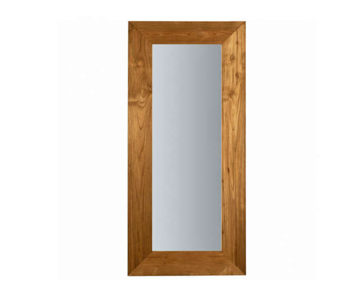 700 teak mirror leaning ethnicraft