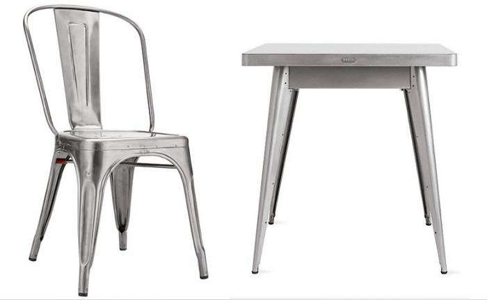 700 tolix marais table and chair dwr