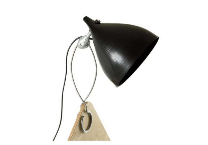 700 tse tse black clip cornette lamp