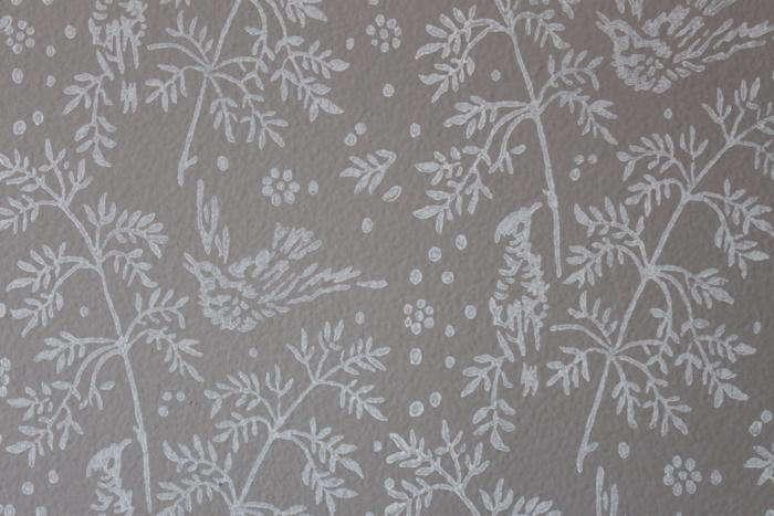 700 wallpaper roller stencil closeup