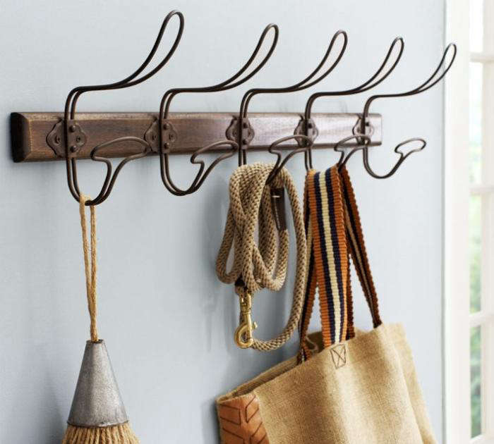 700 wire and wood hook pottery barn